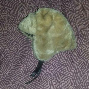 Warm hat flannel lining 12-18 months